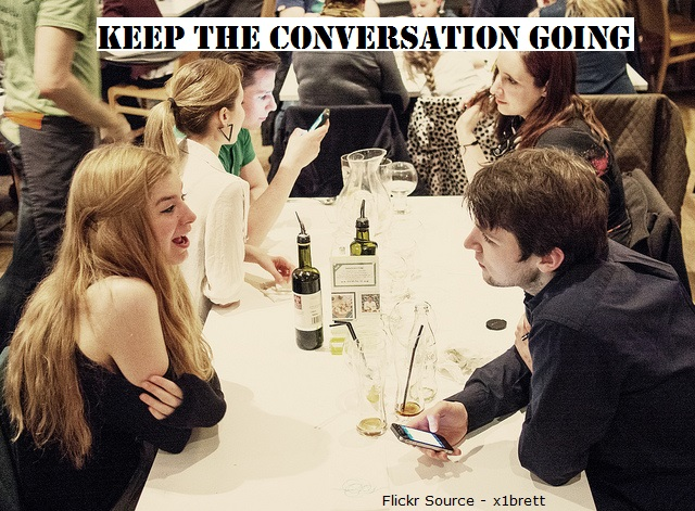 Online dating how to keep conversation going