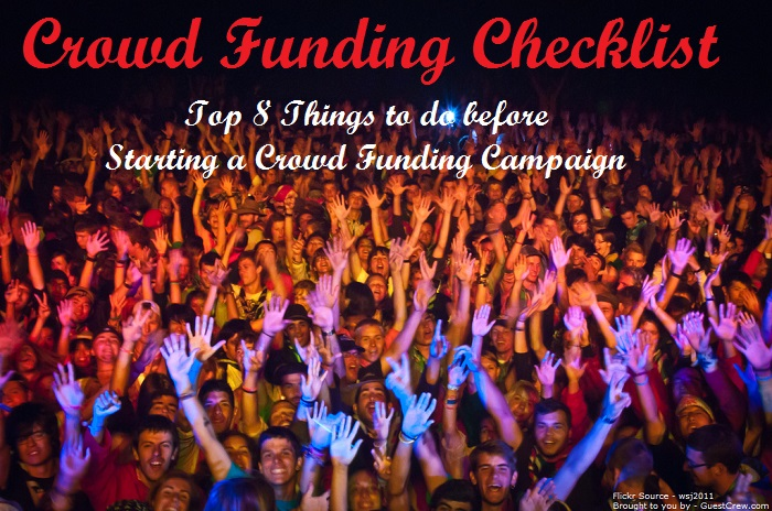 Crowd Funding Checklist