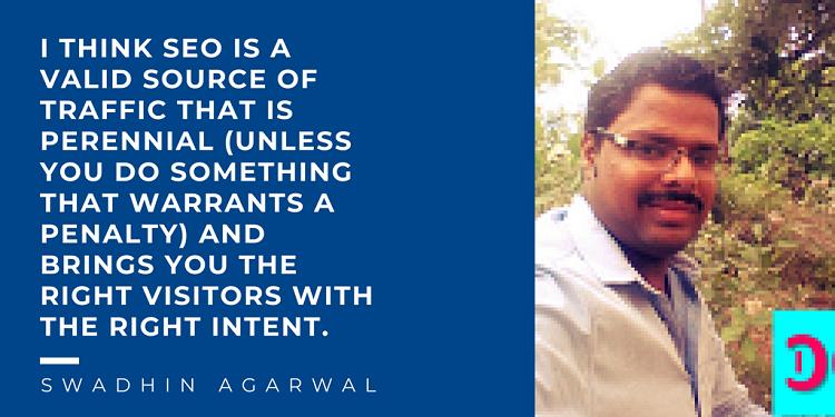 Swadhin Agarwal Tweetable 1