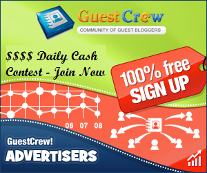 Guest Crew cash contest