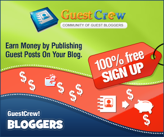 Guest Crew for Bloggers