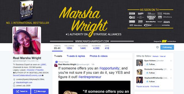 Real Marsha Wright