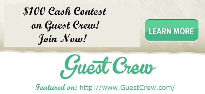 Guest Crew $100 Cash Contest