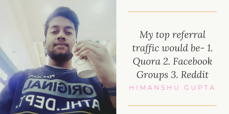Himanshu Gupta Tweetable