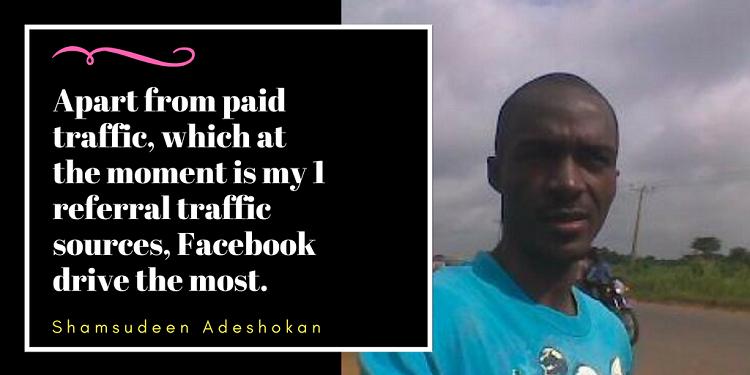 Shamsudeen Adeshokan Tweetable