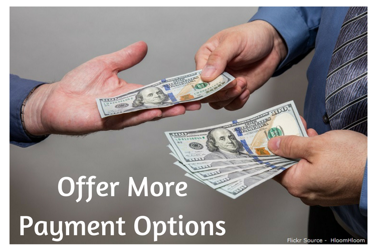 Offer More Payment Options