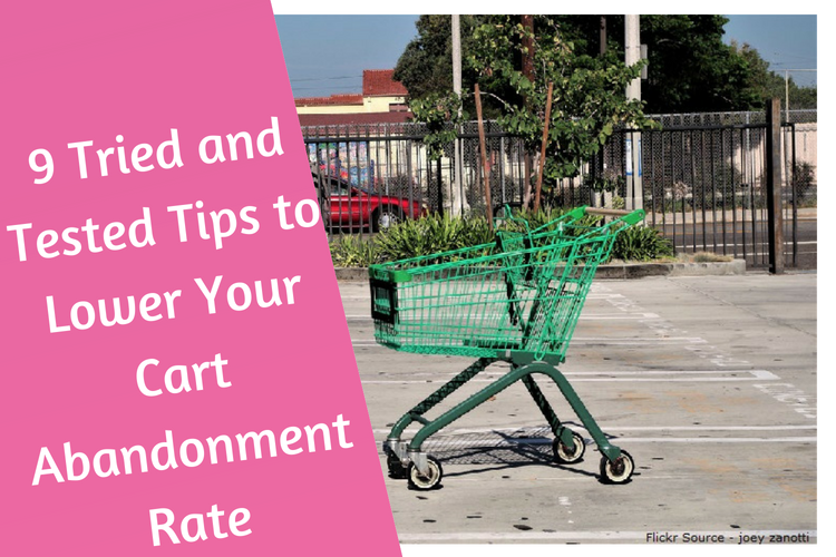 Cart Abandonment Rate