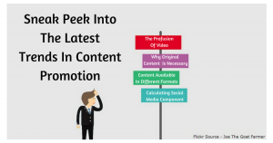 Sneak Peek Into The Latest Trends In Content Promotion