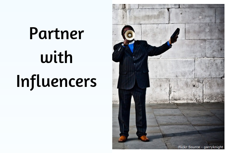 Partner with Influencers